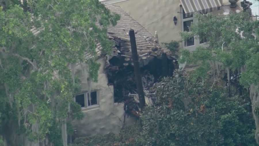The National Transportation Safety Board arrived in Orlando Monday morning to determine what caused a helicopter to crash into a home, killing three people.