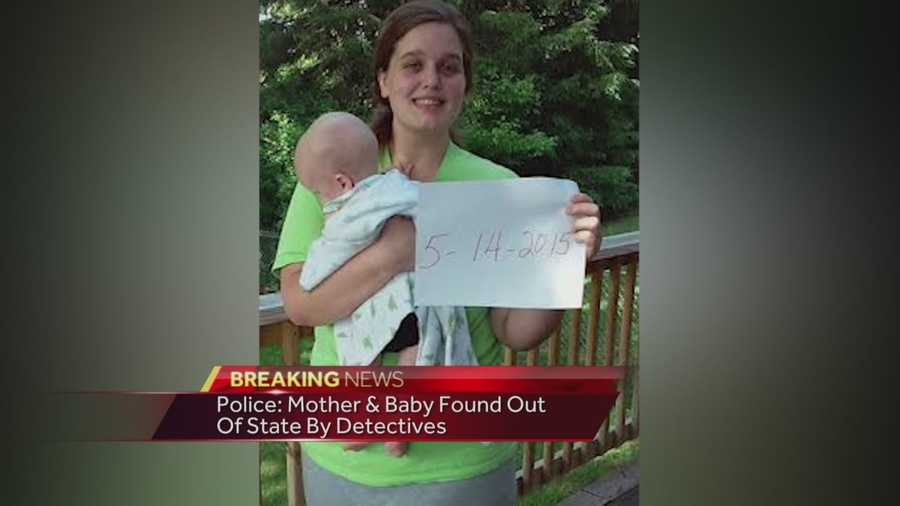 missing baby and mother found