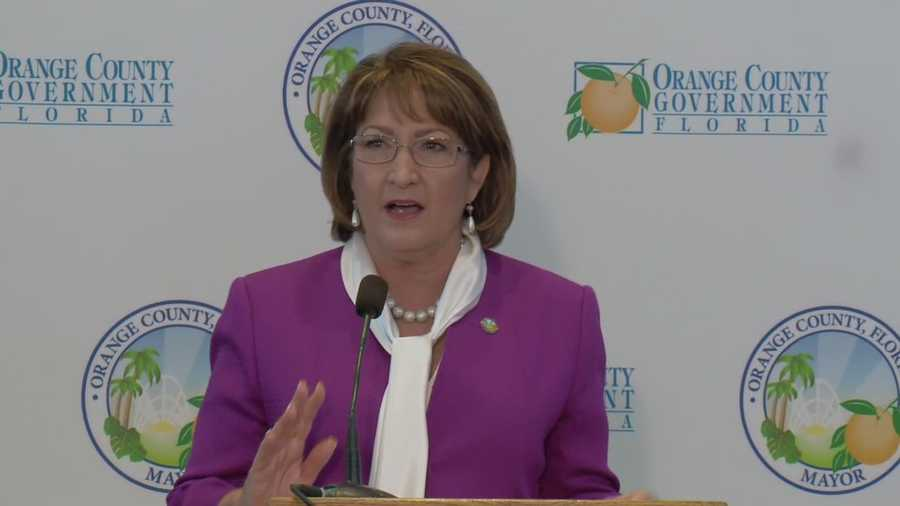 Orange County Mayor Teresa Jacobs is proposing $300 million in new projects for the county.