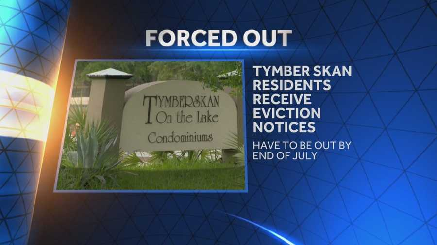 People living in a troubled condo complex are being told they have a week to get out. Summer Knowles (@WESH2SummerK) has the story.