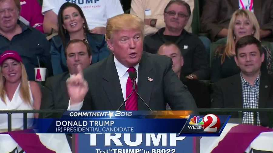 Donald Trump is looking to bolster his reach in the south, talking to supporters at University of South Florida. The rally comes just days after the New Hampshire primary, where Trump gained 35 percent of the vote and snagged 10 delegates. Jim Payne reports.