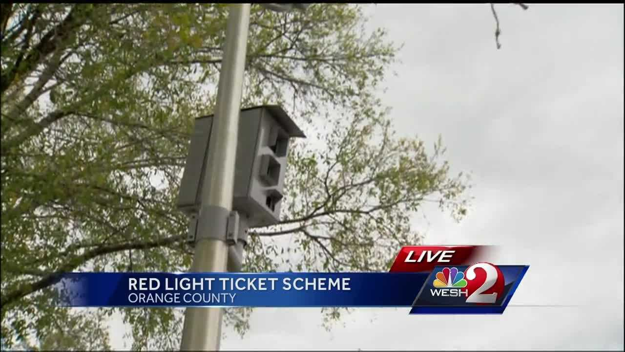 A new con involves red-light cameras, officials say. Thieves are telling people they owe a fine, when they really don't. Matt Grant (@MattGrantWESH) has the story.