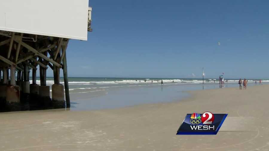 A portion of Daytona Beach has been placed under a swim advisory after testing revealed higher than normal levels of bacteria in the water, health officials said.