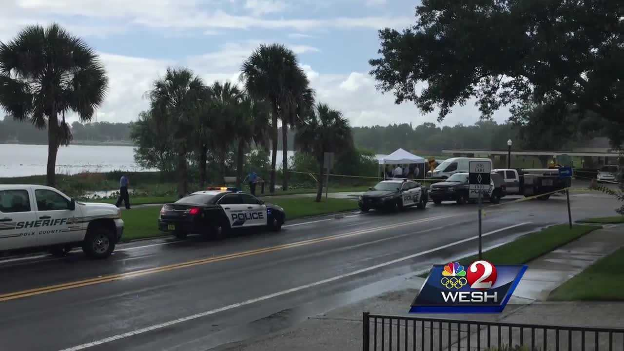 An alligator trapped in Lakeland is confirmed to be the one that was found holding a man's body in its mouth Tuesday afternoon.
