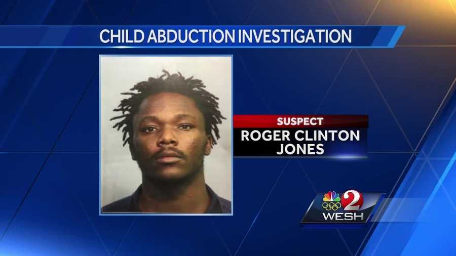 Lake Mary police say Roger Clinton Jones abducted a child he says is his daughter.
