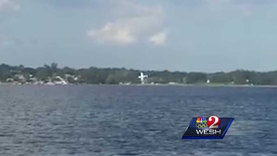 A man and his 9-year-old daughter are recovering after their plane plunged into Lake Down Saturday afternoon.