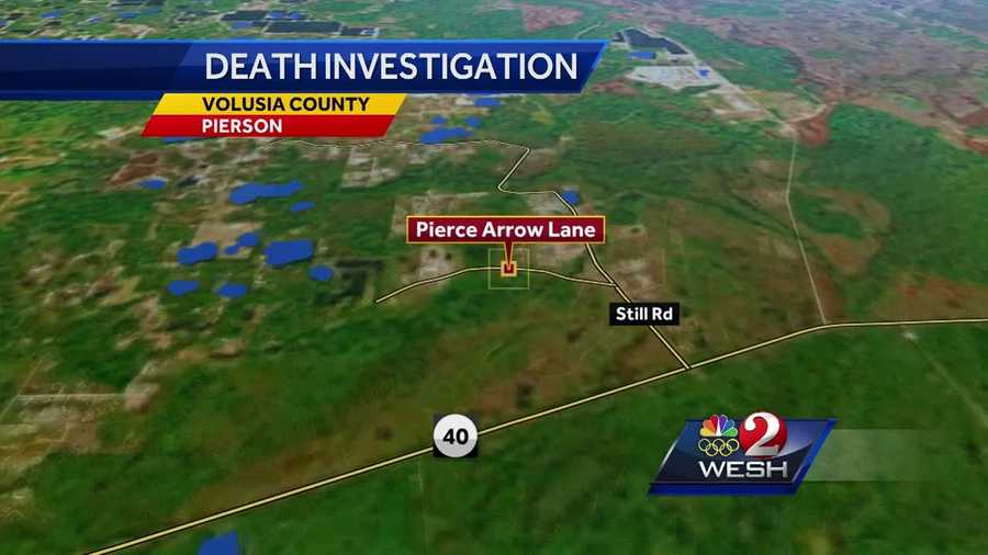 A woman was found dead on a rural road in Pierson Wednesday afternoon and troopers say it appears as though she might have been hit by a car.