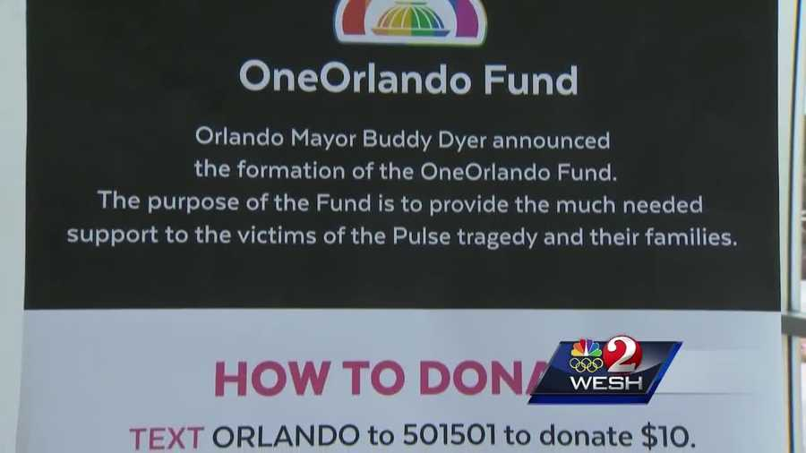 Donations have reached more than $20 million, but nothing has been given out yet; administrators said they want to be careful to avoid fraud and distribute the money fairly. Amanda Crawford reports.