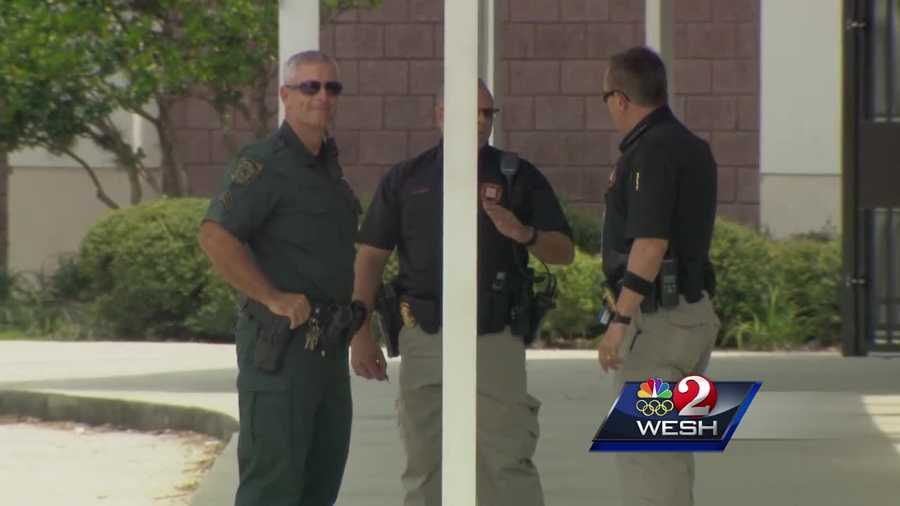 There was extra security on school campuses across Orange County in the wake of threats made to several schools.