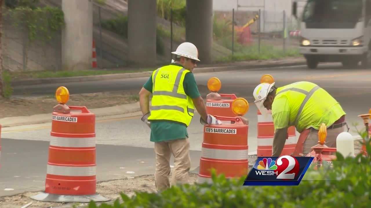 FDOT crews said they are monitoring the weather forecast and are preparing for severe weather. Gail Paschall-Brown reports.