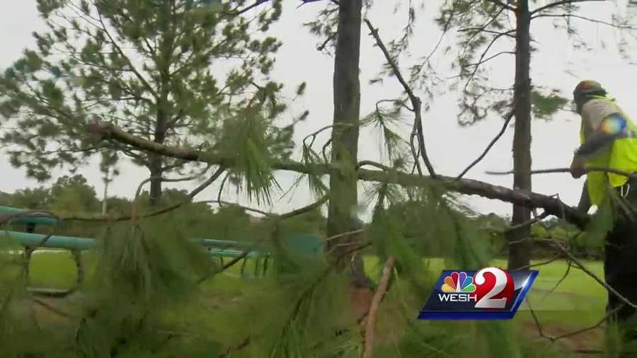 "Friday afternoon, WESH 2 News confirmed from the National Weather Service that an EF-0 tornado ripped through the Hamlin area of Winter Garden. They're calling it, ""The Hamlin Groves Tornado."" Bob Kealing reports."