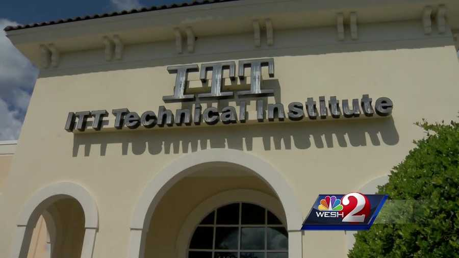 WESH 2's Alex Villarreal looks into how Central Florida is dealing with the closure of ITT Tech.