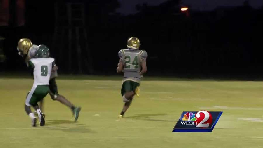 Coming into Friday night's game, the winless Oak Ridge Pioneers had only scored one touchdown, but they used the WESH 2 News Game of the Week as a coming-out party.