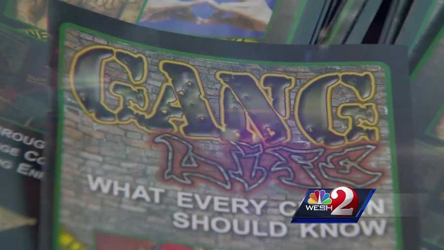 Law enforcement officials said a significant amount of Central Florida crime is gang related.