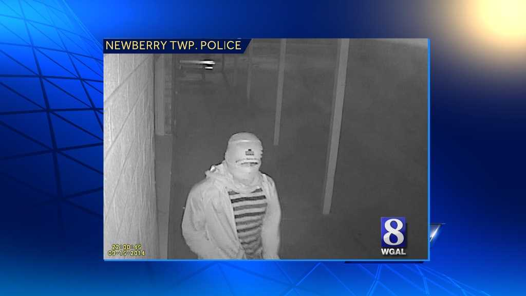 Police are looking for the man who broke into an ice cream shop in Newberry Township, York County.