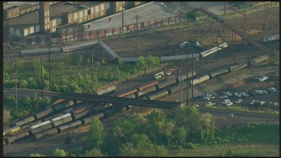 Two people are still missing after an Amtrak train crashed in Philadelphia on Wednesday.