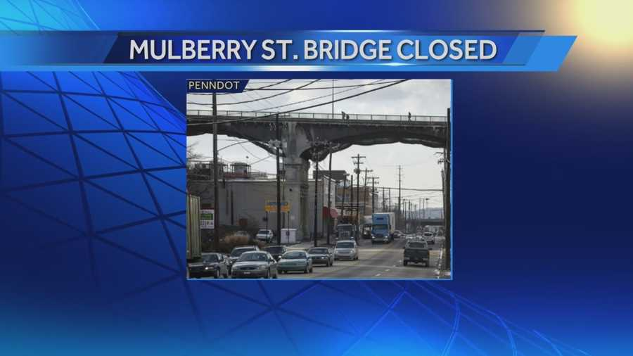 Thousands of commuters are being affected by a major construction project in Harrisburg.