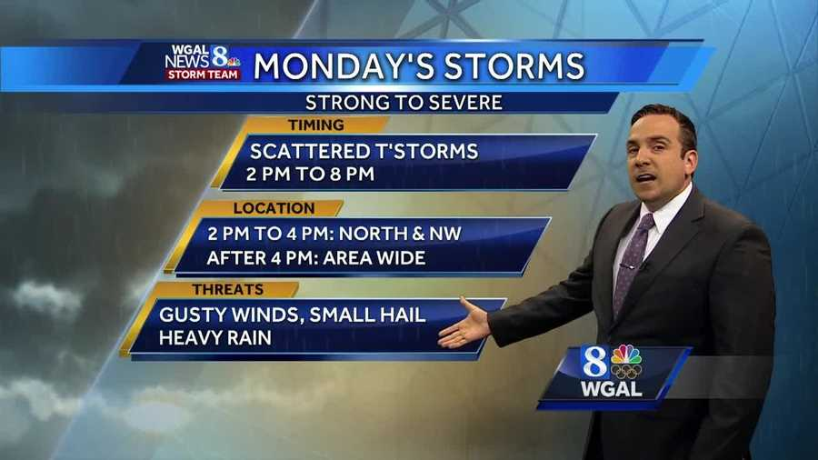 News 8 Storm Team Meteorologist Ethan Huston has the hour-by-hour forecast with possibly strong to severe thunderstorms tomorrow afternoon and evening.