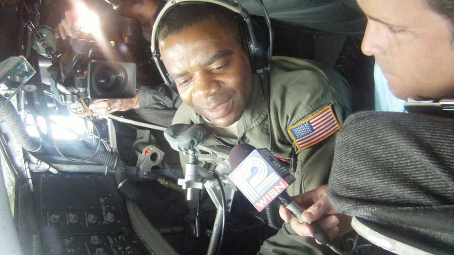 12 News anchor Craig McKee flew with the 128th Air Refueling Wing of the Wisconsin Air National Guard as they ran a mission over Colorado Wednesday.