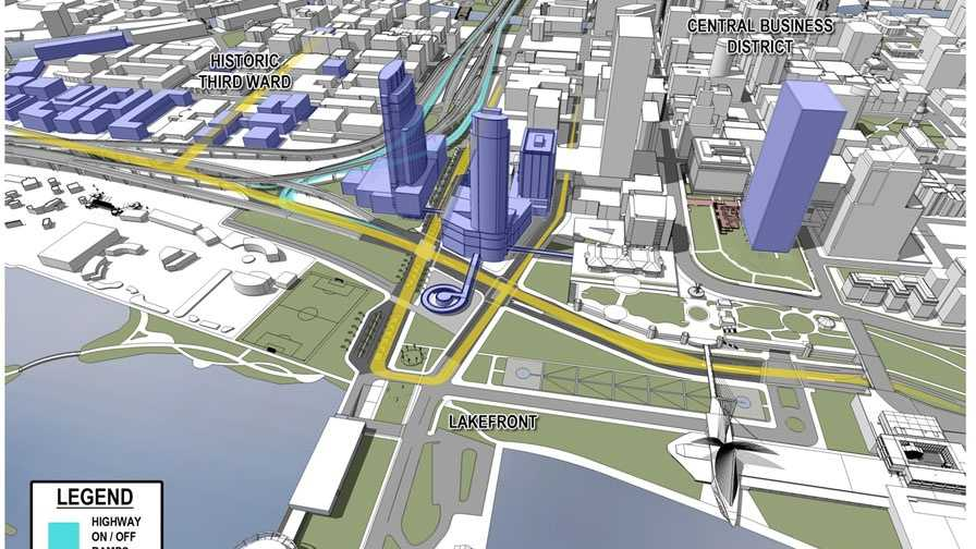 Big changes are coming to Milwaukee's lakefront.  Mayor Tom Barrett, County Executive Chris Abele and Gov. Scott Walker made the announcement Monday morning.
