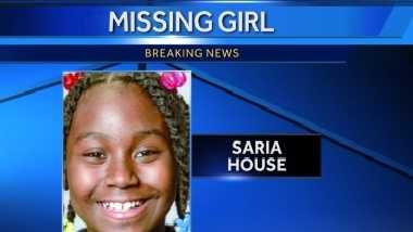 Milwaukee police have reported 11-year-old Saria House missing.