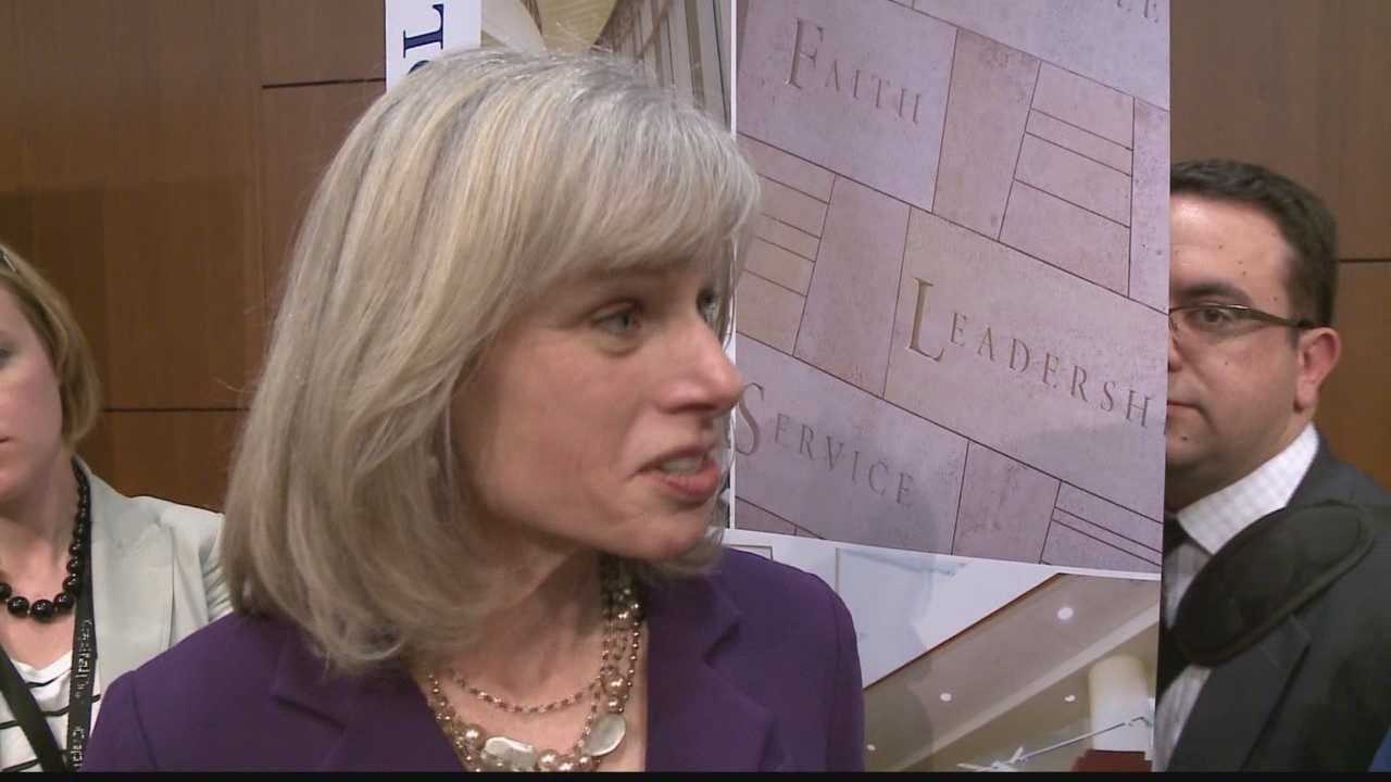 Mary Burke, the only Democrat challenging Gov. Scott Walker releases her jobs plan for the state.