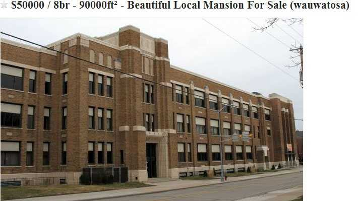 Wauwatosa East High School Up For Sale