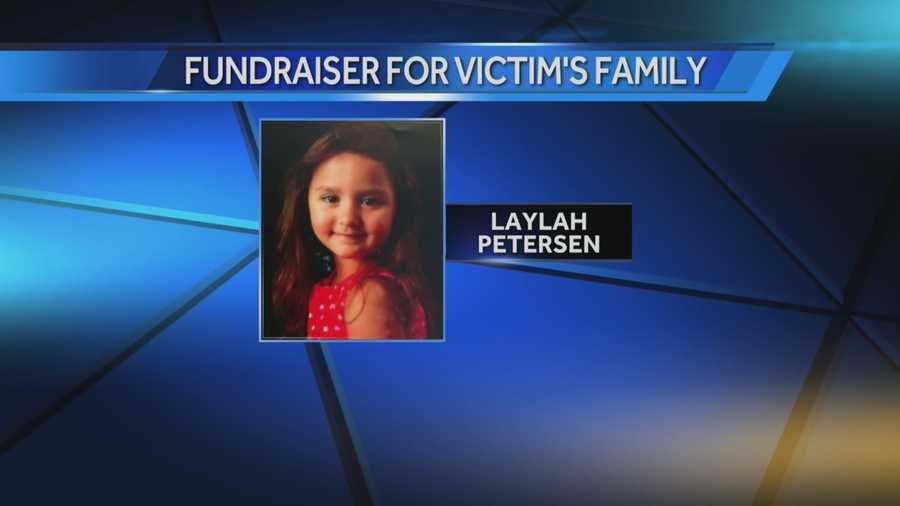 Five-year-old Laylah Petersen was shot and killed earlier this month.