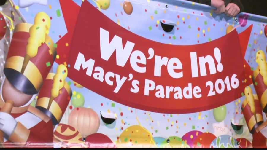 Greendale High School's Marching Band was one of 10 bands chosen to march in the 2016 Macy's Parade.