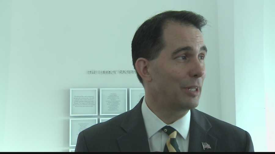 Governor Walker not ready to endorse candidate