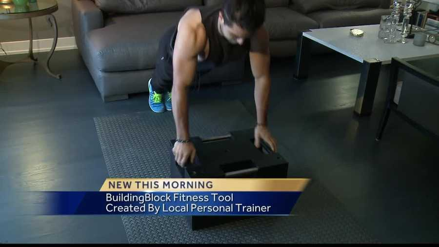 A local man got sick of lugging around heavy training equipment, so he created something of his own. Now, he's taking it to Kickstarter in the hopes of having others try it out.