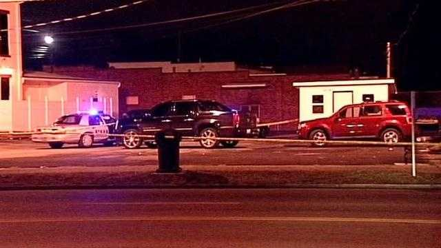A woman is shot outside a nightclub early Monday morning and rushed to University of Louisville Hospital.