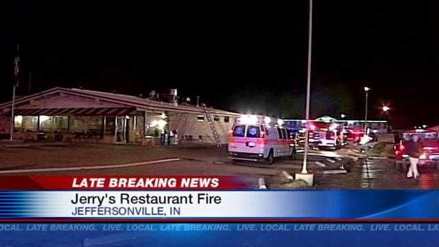 The cause of the restaurant fire is under investigation