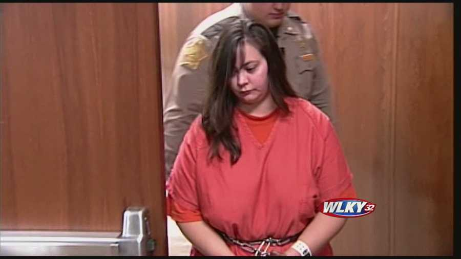 A woman accused of shooting a man following a rape fantasy role-play made her first court appearance Thursday in Floyd County.