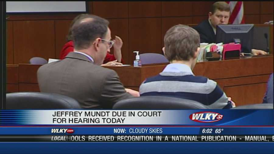 Jeffrey Mundt is expected to appear in court