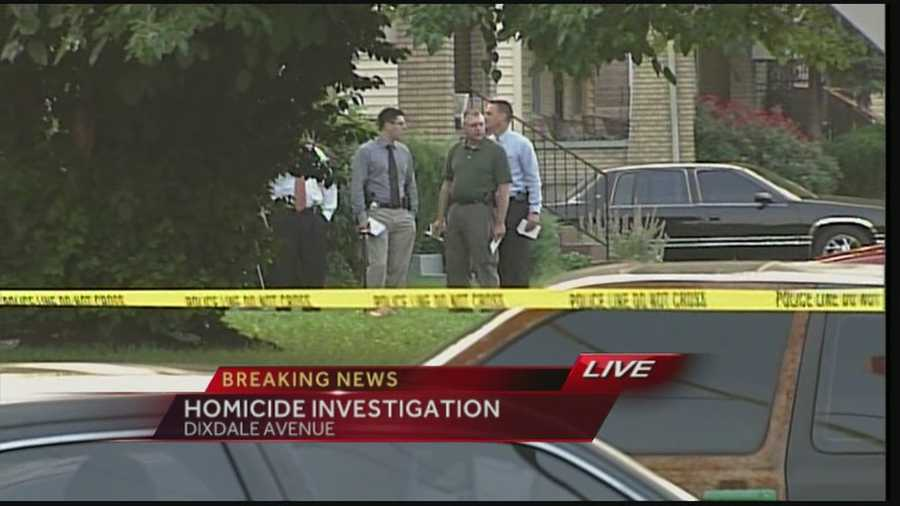 Police are on the scene of a homicide investigation in southwest Louisville.