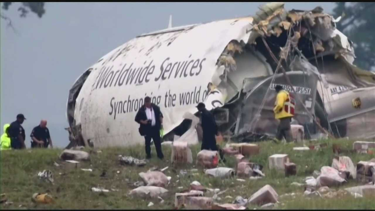 The National Transportation Safety Board continues to investigate the crash of a UPS cargo jet in Birmingham, Ala.