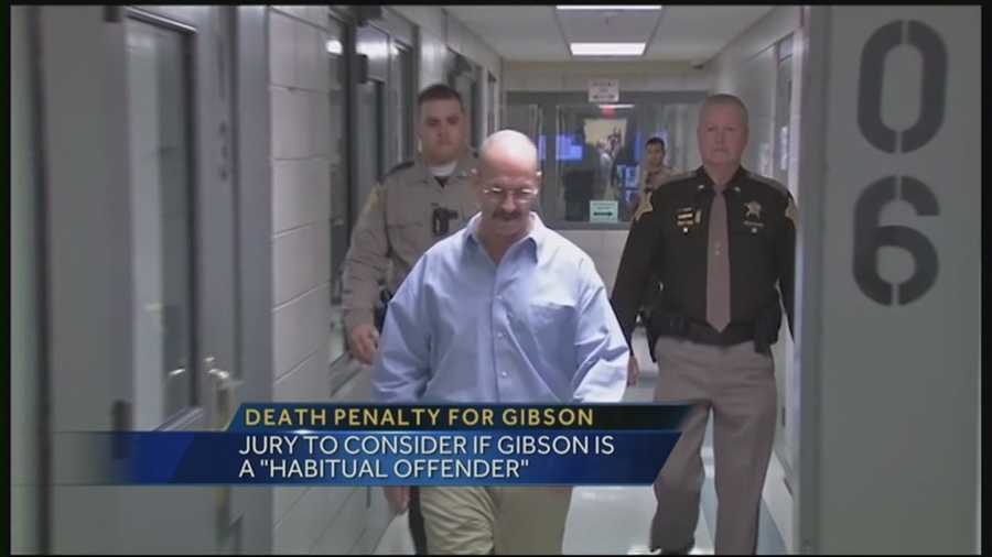 A jury will consider if William Clyde Gibson is a habitual offender.