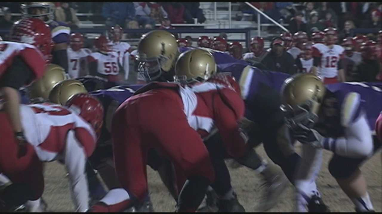 The Kentucky high school football state semifinals were played Friday night.