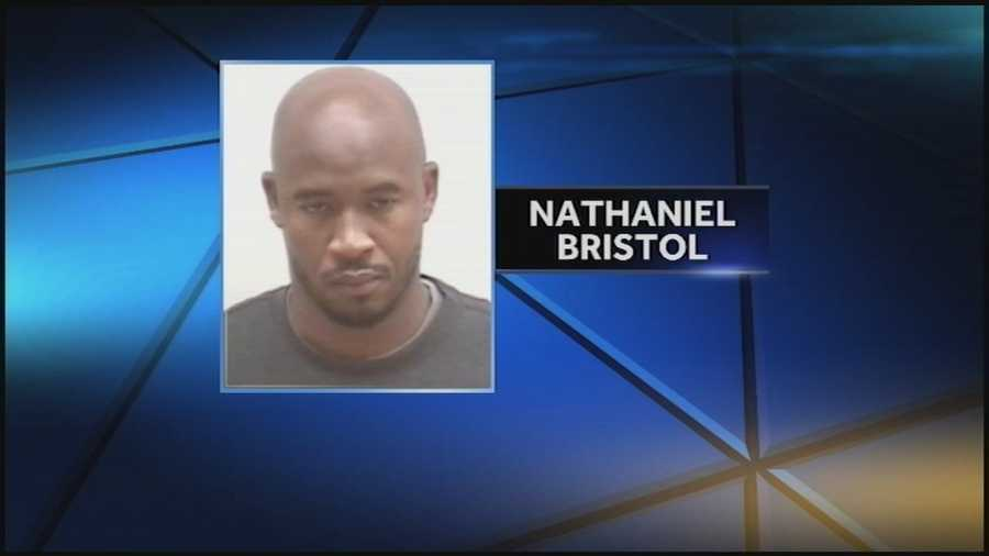 Nathaniel Bristol: Charged with robbery and resisting arrest (READ MORE)