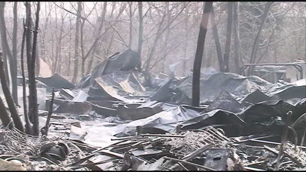 A Marion County couple is dead after a fire broke out in their mobile home as they slept early Monday.