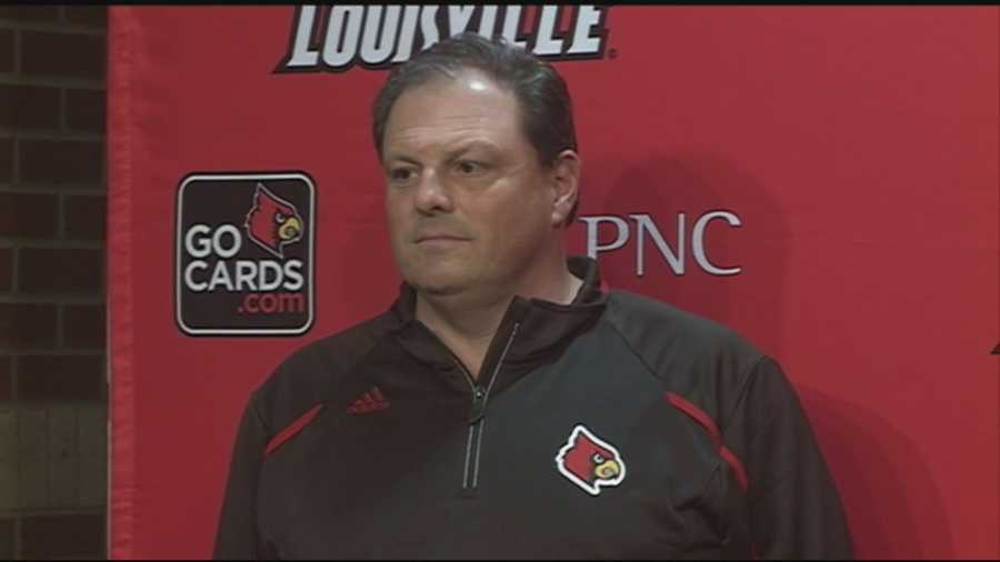 University of Louisville head football coach Bobby Petrino hires Todd Grantham as the new defensive coordinator.