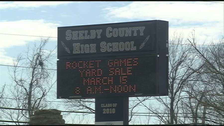 A Shelby County student was arrested after reportedly pulling a knife at school