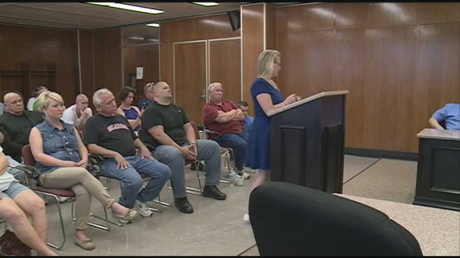 A New Albany police officer voices her concerns about corruption and a hostile work environment.
