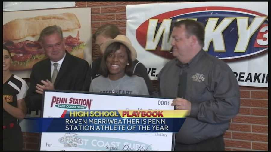 Each month throughout the school year, WLKY featured one high school athlete and all eight were up for the final prize of a $5,000 scholarship.