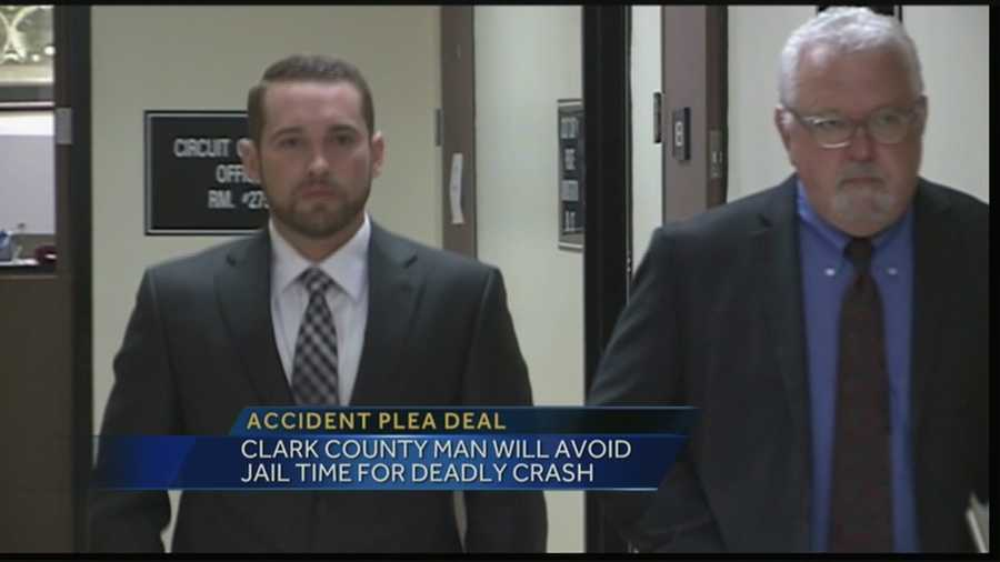 A man who caused a deadly golf cart crash is avoiding jail time by taking a plea.