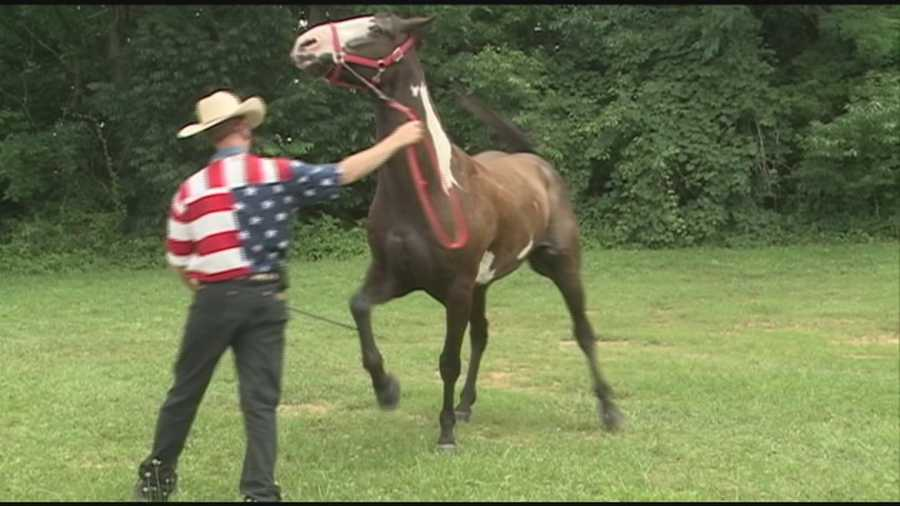 The Wild West Day Festival was held at the Oldham County Fairgrounds to benefit two food pantries.