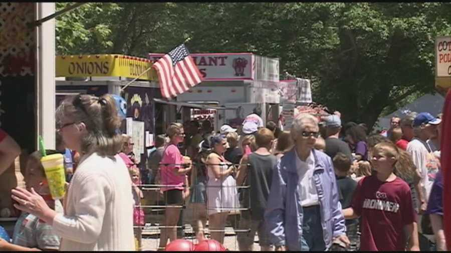 The community of Pekin, Indiana hosts its Fourth of July celebration Friday, the oldest consecutive celebration in the country.