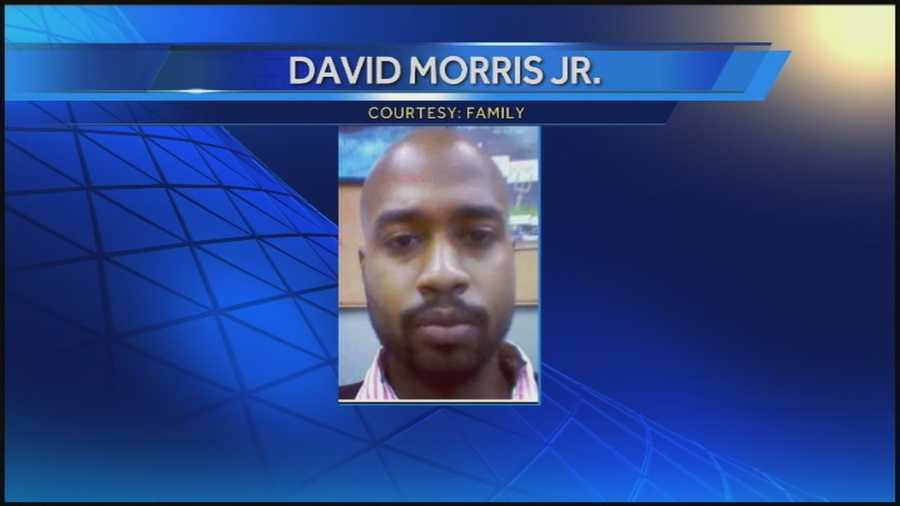 The body of David Morris Jr. was pulled from a rock quarry Tuesday.