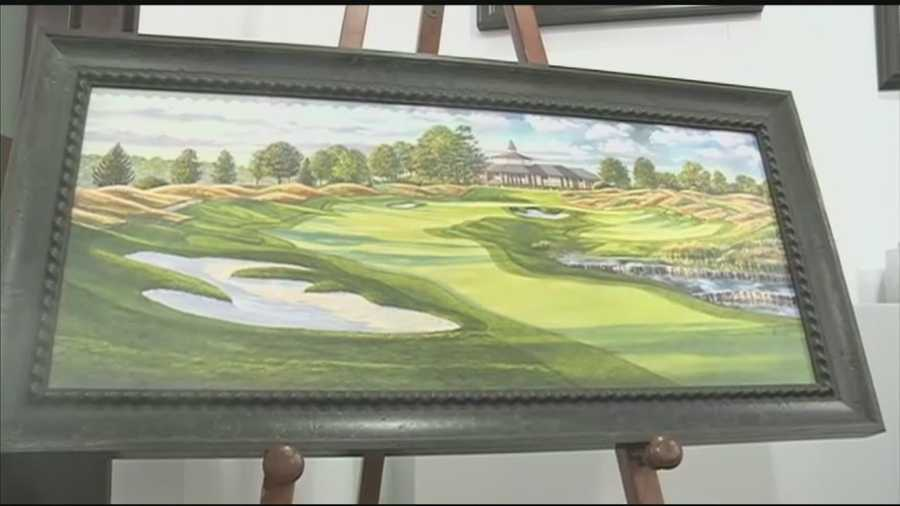Artists cashing in with limited edition prints of Valhalla Golf Club.